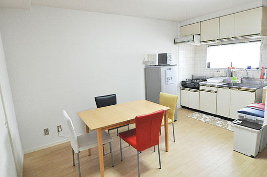 Sharehouse Ikebukuro-Shiinamachi 3F kitchen